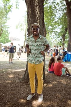 Our Favorite Street-Style Snaps From Pitchfork  #refinery29