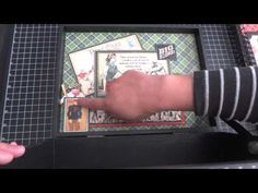 Good Ol' Sport Altered Box and Album video tour by Arlene #graphic45 #videos