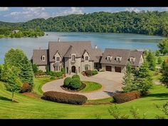Extraordinary lakefront property - 13441 Providence Rd in Milton GA - YouTube