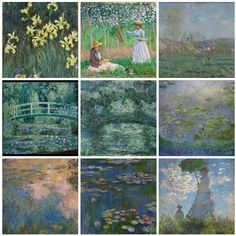 #1 Color series and great artists: Claude Monet and his green colors