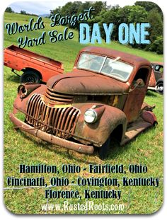 Five States in Four Days! Our Route on 127 World's Largest Yard Sale 127 Yard Sale, Antiques Road Trip, Garage Sale Tips, Great Vacations, Yard Sales, Way Of Life, Me Time, Worlds Largest, Summer Fun