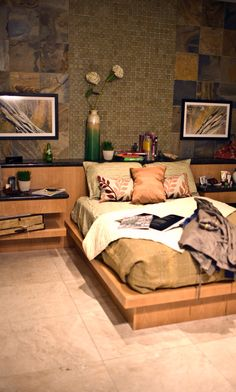 Tile In The Bedroom Can Look Good Too! #thetileshop