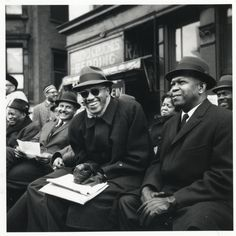 Adam Clayton Powell and Malcolm X. New York City, 9/15/62 Photo by O.L. Abel