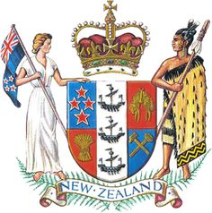New Zealand National Coat of Arms