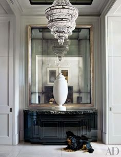 Step inside another historic London townhouse updated with cutting-edge art and design Tour Sting and Trudie Styler's stunning London residence Discover a flat within a 300-year-old English manor, brought back to glorious life Get inspiration for your next redo with AD's slide show of designers' dining rooms: