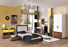 Kinder Komplettzimmer Titan 7 Teilig. Auffällige Und Extravagantes  Jugendzimmer, Für Lebensfreudige Menschen.