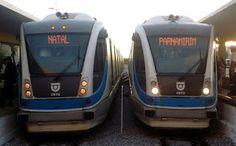 Pregopontocom Tudo: CBTU amplia o numero de viagens de trens entre Natal e Parnamirim...