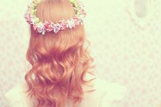 tiara de flores diy - Pesquisa Google