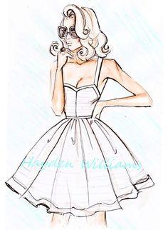 Fashion Illustration: подборка фото модной иллюстрации для вдохновения More