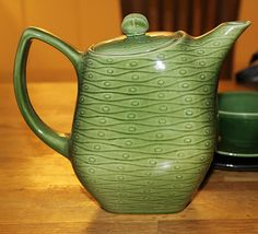 Teapot - NEW TIME, BOCH FRERES, BELGIUM - would go very nice w/my collection.