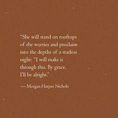 Morgan Harper Nichols, My True Love, Make It Through, My Father, Discover Yourself, Self Love, Worship, No Worries, Pray
