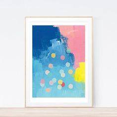 A little bit of confetti always makes me smile.  Confetti art print. x  #confetti #artprint #abstract #abstractart #colour #print #wallart #paint #illustration #design #create #makeart