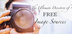 The Ultimate Directory Of Free Image Sources | Edublogger | 21st Century Concepts-Technology in the Classroom | Scoop.it