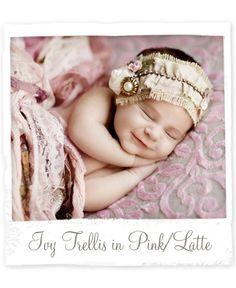 Ivy Trellis Luxe in Pink/Latte