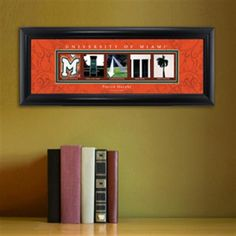 College Campus Art - University of Miami Free Personalization – GiftsEngraved