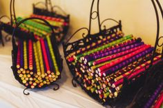 Basket for dadiya sticks; Garba; Gujarati wedding; Indian wedding