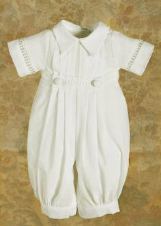 little david christening outfit More