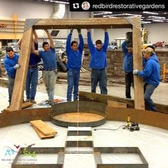 "#Repost in solidarity for February 16 2017 #immigrantsmakeamericagreat #Thanksgiven Day 4: It was a crazy dream of mine that I pitched to these guys -- ""let's design a healing garden for the garden show!"" Do you see the cooperation? Do you sense of the communication? How about that commitment? . Lesson here is simple: All for one one for all and all in to help people feel better. . -- What's this I'm posting? . It's a 10 day Thanks-Given to the landscape construction crew members - the…"