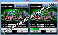 Mutants Genetic Gladiators Hack Cheat Tool v3.6 (Free Download 2013) | Best Hack Download - Real Hacks