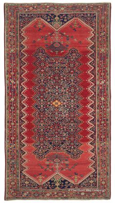 MALAYER, Northwest Persian 3ft 10in x 7ft 2in Late 19th Century
