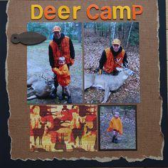 Deer Camp - Scrapbook.com
