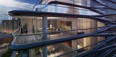 caleidoscópica - blog d design de interiores e decoração | Eu quero acordar na cidade que nunca dorme. Zaha Hadid New York