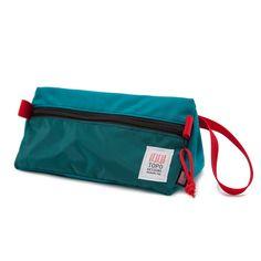 Topo Designs Dopp Kit Forest/Red