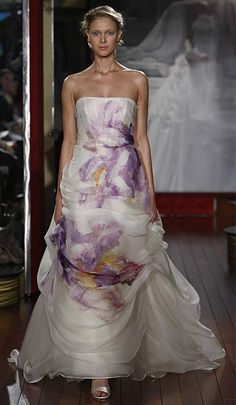 Nymphaea lake wedding dresses