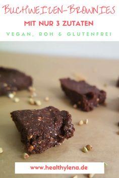 Unglaublich schokoladig, extra cremig und super köstlich – diese rohveganen Buchweizen-Brownies haben mich nicht enttäuscht. Ich bin gespannt, ob auch ihr so begeistert wie ich von dem Rezept sein werdet. Mit nur 3 Zutaten! #glutenfrei #ohne Nüsse #fettarm #vegan #schokolade #brownies #fudge #schoko #lowfat #raw #rohkost #dessert #naschen http://www.healthylena.de/rezepte/rohe-buchweizen-brownies-nur-drei-zutaten-fettarm-glutenfrei/