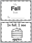 "Free Fall Book for Kindergarten Practice reading the words ""I see…"" There are 9 pages in this October book. You can print and use all the pages or just the ones that you prefer …"
