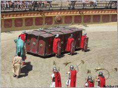 La tortue romaine est une formation défensive des armées romaines, formation inventée par les Gaulois
