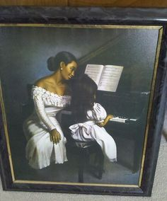 """Rhapsody of Love,"" an oil painting signed Park."