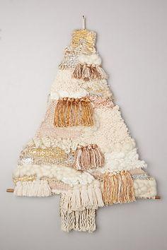 fringed tree tapestry #anthroregistry #christmasdecor