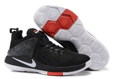 super popular 4deca a865c James basketball shoes witness 1 correct edition mesh Black and white -  Dicount Nike Store,