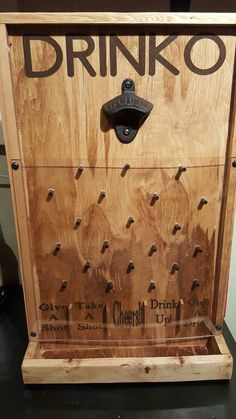 My take on drinko plinko designed and built by steadfast craft similar ideas solutioingenieria Choice Image