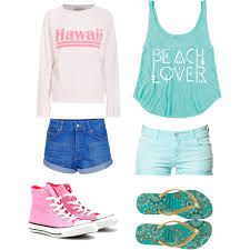 which is better? #outfit #for #the #beach