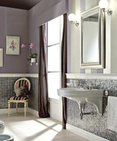 Sbordoni mosaic bathroom.