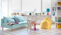 Kinderzimmer mit Bemz-Produkten | Bemz