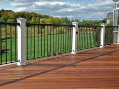 Beautiful Railing For Decks #3 Deck Railing Options