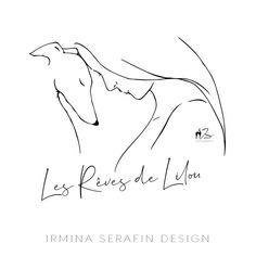 Bad Cats, Dog Tattoos, Italian Greyhound, Greyhounds, Whippet, Line Art, Best Dogs, Design Art, Tattoo Ideas
