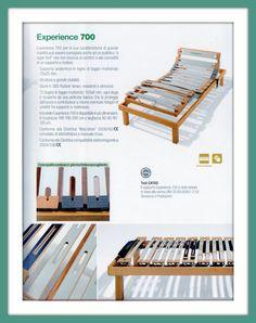 Experience 700 di Dorsal... Pedersoli Casa vi guiderà nella scelta del modello adatto alle vostre esigenze...