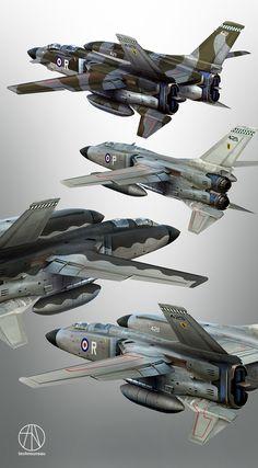 ArtStation - RAF Light Strategic Bomber Ca. 1971, Rasmus Poulsen