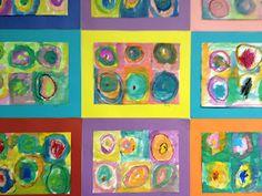 Mrs. Goff's Pre-K Tales: Art Inspired by Kandinsky