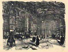 Nollendorfplatz bei Nacht von Karl Holtz