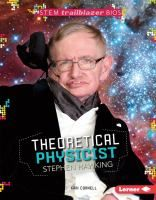 Book Jacket for: Theoretical physicist Stephen Hawking