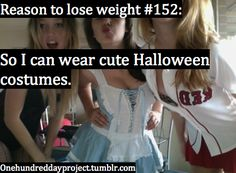 Because I love that on Halloween I can look like a ho and its ok :)