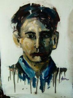 Retrato Oleo sobre tela 50x30 Painting, Tela, Art, Painting Art, Paintings, Painted Canvas, Drawings