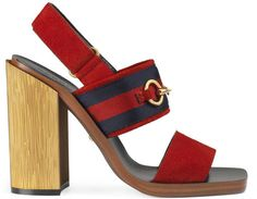 $850, Gucci Suede Horsebit Sandal. Sold by Gucci. Click for more info: https://lookastic.com/women/shop_items/356844/redirect