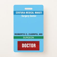 Shop Customized Name and Photo Doctor Names, Surgeon Doctor, Surgery Center, Profile Photo, Colorful Backgrounds, Badge, Medical, Cards, Badges