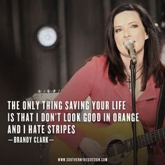 Brandy Clark Stripes..totalllly on repeat in my car..love her!